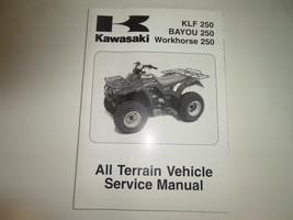 2003 2004 2005 Kawasaki Klf 250 Bayou 250 Workhorse 250 Atv Service Manual New - $138.55
