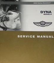 2003 Harley Davidson Dyna Models Service Shop Manual New Factory Oem X 2003 - $118.80
