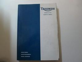 2003 Triumph Bonneville T100 Bonneville America Service Manual TRIUMPH 0... - $133.60