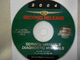 2004 Chrysler Pacifica Sebring Lhs Service Manual Dvd Cd Second Release 1of2 04 - $64.78
