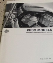 2004 Harley Davidson VRSC Service Repair Shop Workshop Manual BRAND NEW - $101.92