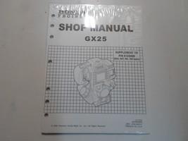 2004 Honda Engines Gx25 Shop Manual Supplement New Factory Oem Book 04 Deal - $36.62