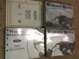 2005 FORD Excursion TRUCK Service Shop Repair Manual Set W EWD & TECH BU... - $267.30