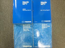 2004 Mazda Mpv Van Service Repair Shop Manual 4 Volume Set Factory Oem Book 04 X - $277.18