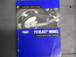 2006 Buell P3 P 3 Blast Parts Catalog Manual BOOK FACTORY NEW - $103.90