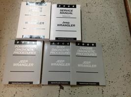 2006 JEEP WRANGLER Service Shop Repair Manual Set OEM FACTORY BOOK OEM 2006 - $435.55