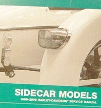 2006 2007 Harley Davidson Factory Sidecar Sidecars Service Shop Book Manual NEW - $123.75