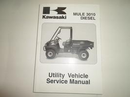 2007 Kawasaki Mule 3010 Diesel Utility Vehicle Service Shop Repair Manual NEW - $143.50