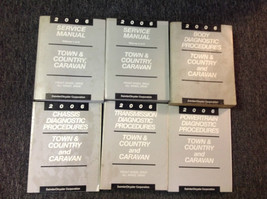 2006 Dodge Caravan Mini & Chrysler Town & Country Service Shop Manual Set Oem - $168.30