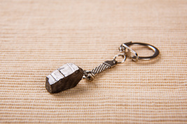Keychain with a Elite (Noble) Shungite Small Nordic Nugget  - $8.90