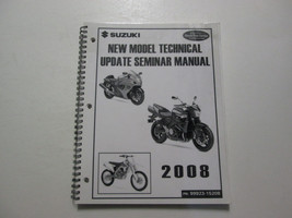 2008 Suzuki New Model Technical Update Seminar Manual Factory Oem Book 08 Deal - $22.93