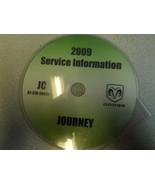 2009 DODGE JOURNEY Service Shop Repair Manual CD DVD DEALERSHIP BRAND NE... - $327.69