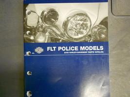 2008 Harley Davidson Flt Police Models Parts Catalog Manual Factory Oem Book New - $104.48