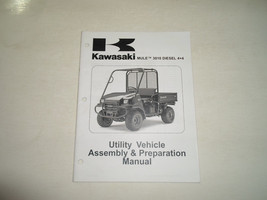 2008 Kawasaki MULE 3010 DIESEL 4x4 Utility Vehicle Assembly & Preparation Manual - $13.85