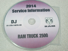 2014 Dodge Ram Truck 2500 Service Information Shop Manual Cd Dvd Oem Brand New - $257.40