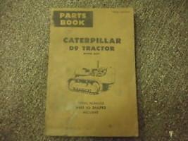 Caterpillar D9 Tractor Part Book 34A1 - 34A793 Power Sh - $34.64