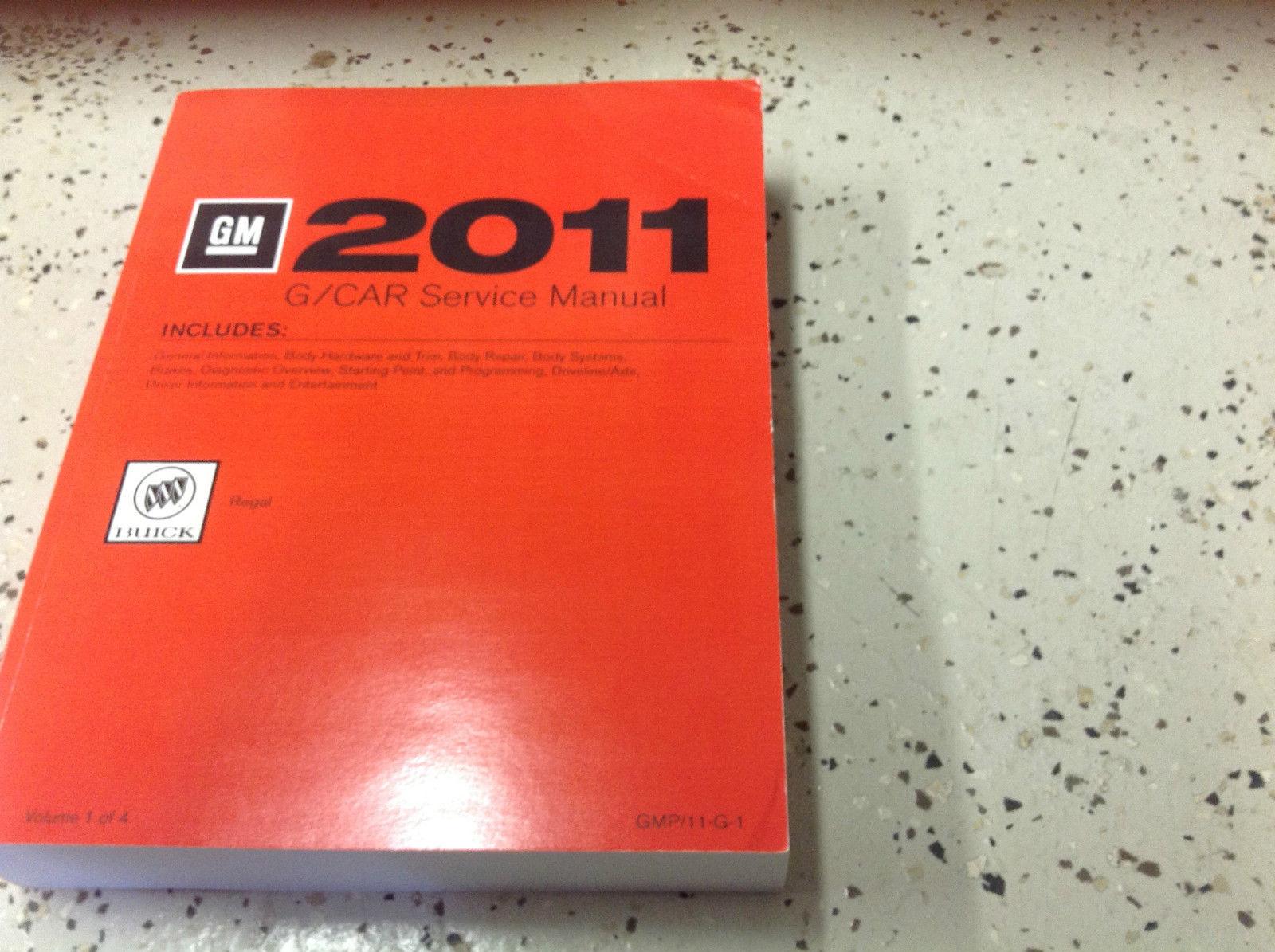 2011 buick regal service shop repair manual and similar items rh bonanza com 2011 buick regal owners manual 2011 buick regal cxl repair manual