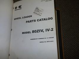 KAWASAKI 80 ZIV 80ZIV IV-2 ENGINE CUMMINS C8 3-C Parts Catalog Manual 80... - $38.70