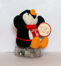 Hallmark Christmas Penguin Plush Toy Zip a Long Pull Back Racer Stocking... - $4.90