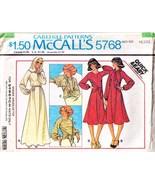 1977 KNIT DRESS & TOP Pattern 5768-m Size 6-8 Petite - Complete - $9.99