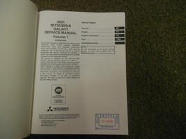 2001 MITSUBISHI Galant Service Repair Shop Manual FACTORY OEM SET BOOK x 4 VOL image 2