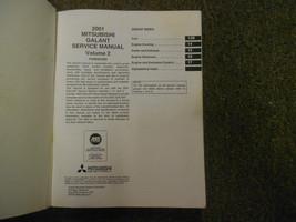 2001 MITSUBISHI Galant Service Repair Shop Manual FACTORY OEM SET BOOK x 4 VOL image 3