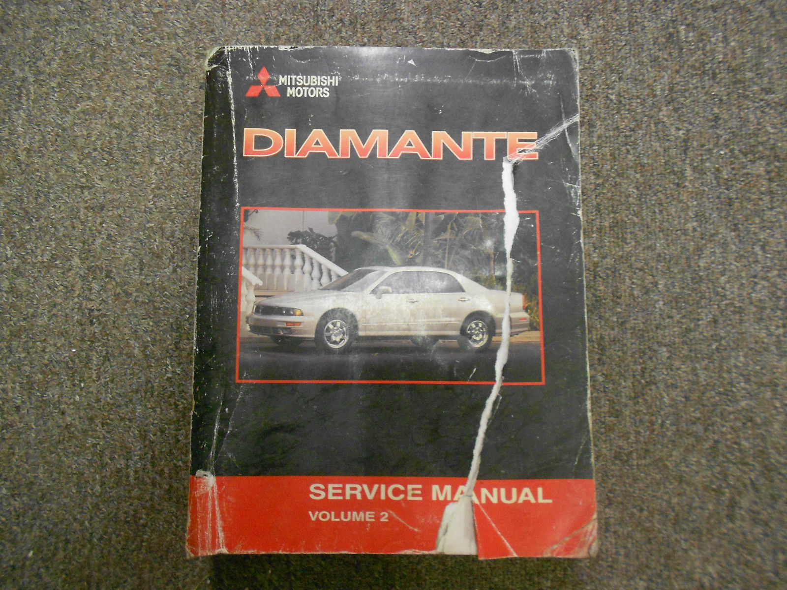 2001 MITSUBISHI Diamante Service Repair Shop Manual FACTORY OEM BOOK 01 SET X