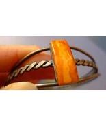 Jewelry Natural Orange Egg Yolk Butterscotch BALTIC AMBER gem BRACELET 2... - $99.00