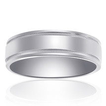 6.6mm 14K White Gold Classic Comfort Fit Band - $543.51