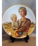 Gorham Promises to Keep By Irene Spencer Autographed Collector Plate 1975 - $4.99