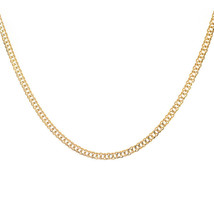 3.3 mm 14k Yellow Gold Curb Chain Necklace - $424.71