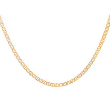 3.3 mm 14K Yellow Gold Anchor Chain Necklace - $395.01