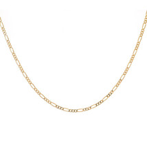 5.5 mm 14K Yellow Gold Classic Figaro Chain Necklace - $256.41