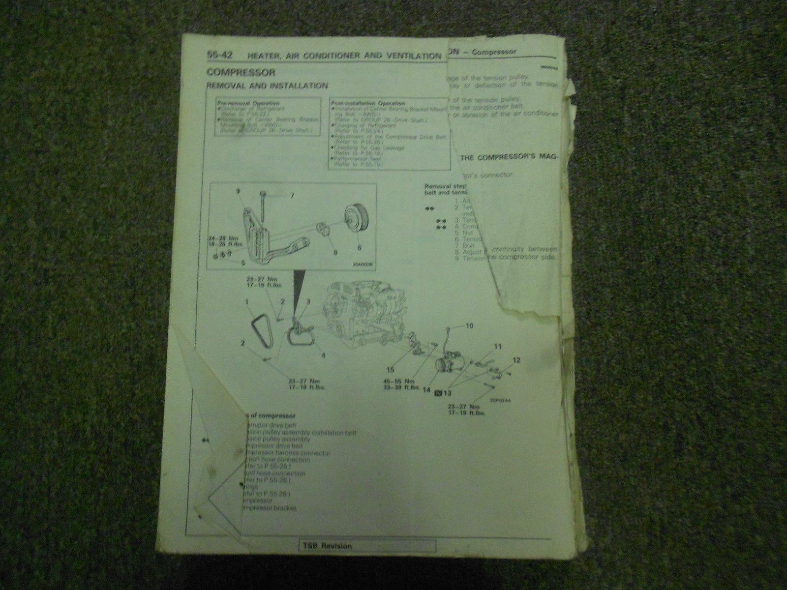 1989 1990 mitsubishi galant service manual and 50 similar items rh bonanza com 2011 Mitsubishi Galant Service Manual 2003 Mitsubishi Galant Wiring-Diagram