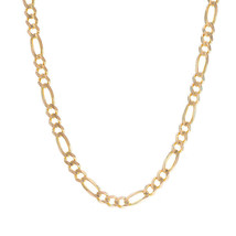 5.9 mm 14K Yellow Gold Classic Figaro Chain Necklace - $1,889.91