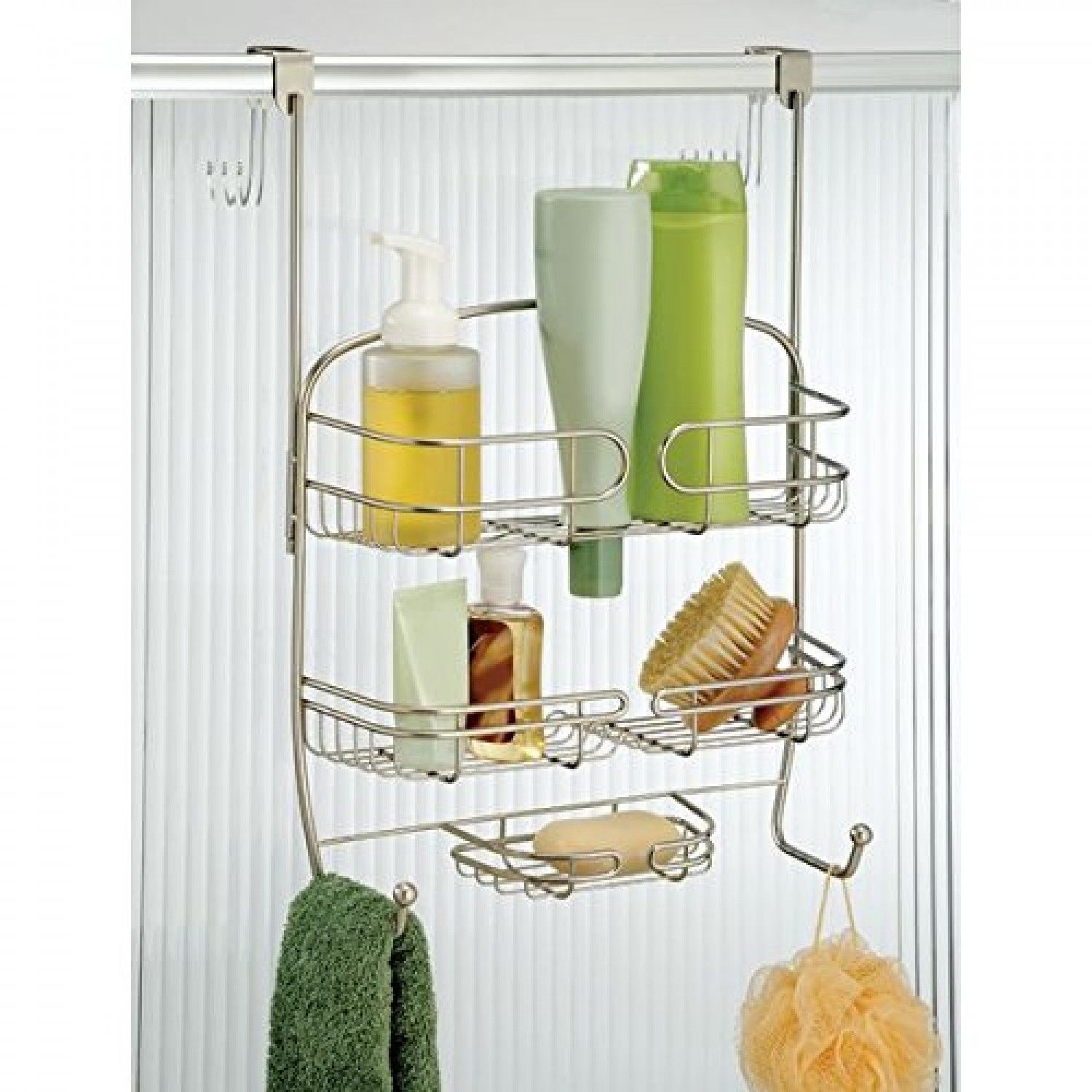 Hook Over Shower Caddy Door Hanger Organizer and 50 similar items
