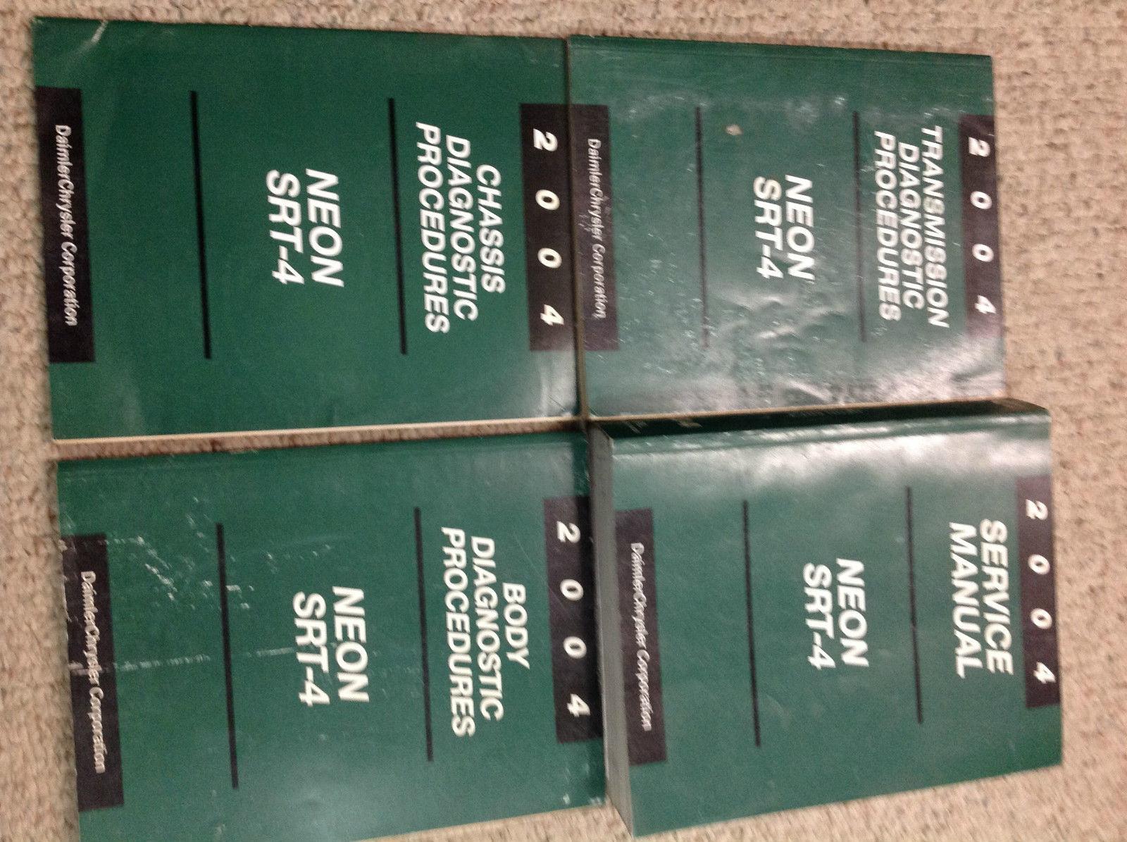 1997 DODGE NEON Service Repair Shop Manual SET W BODY /& CHASSIS DIAGNOSTIC BOOKS