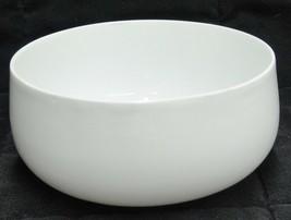 Jaeger & Co White Porcelain  Rounded Soup Cereal Bowl Vintage J&C Bavaria - $9.89