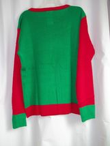 Ugly Christmas Sweater Fruit Cake Holiday Sweater Med and Large NEW image 2