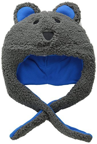 Columbia Baby Boys' Infant Tiny Bear Hat (One Size|Boulder, Hyper Blue)