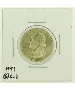 1945 United States Washington Quarters Dollar 9... - $54,48 MXN
