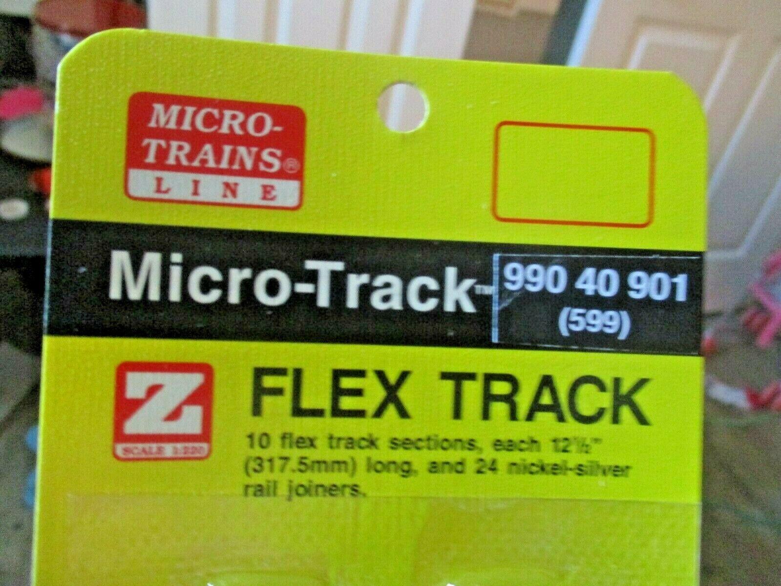 """Micro-Trains Micro-Track # 99040901 (599) Flex Track 12.5"""" (317.5mm) Z-Scale"""