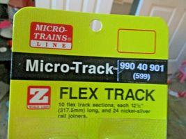 """Micro-Trains Micro-Track # 99040901 (599) Flex Track 12.5"""" (317.5mm) Z-Scale image 1"""