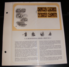 1972 U.S. Bicentennial Series First Day Cover by Postal Commemorative So... - $10.00