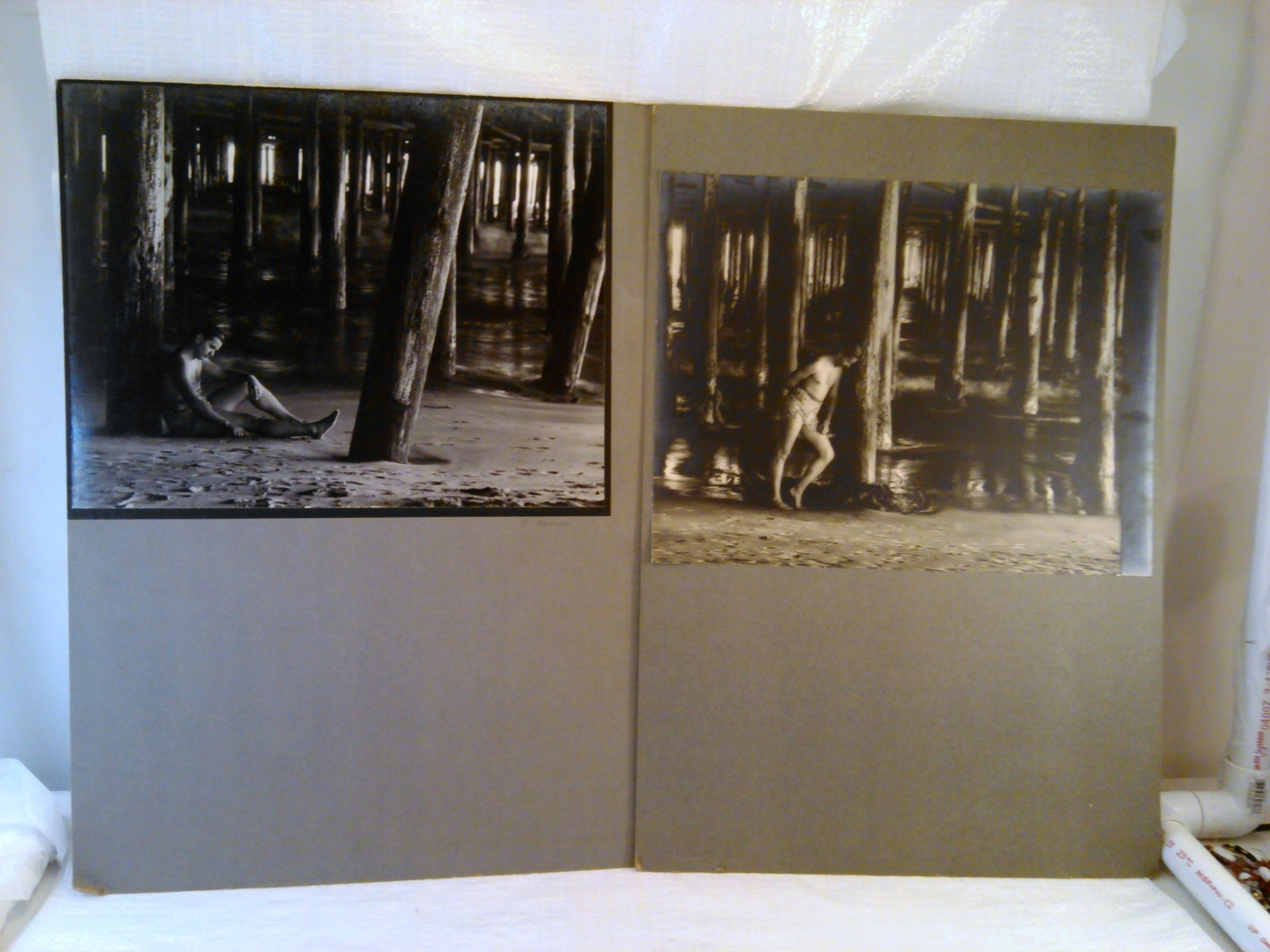 2 Vintage Photographs by Robert Hemmi Black & White circa 1960's