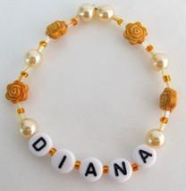 Personalized Child Name Bracelet Birthday Holiday Gift - $10.78