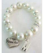 Junior Bridesmaid Personiled Bracelet Initial N... - $14.03