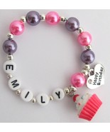 Personalized Happy Birthday Party Bracelet Birt... - $12.08