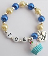 Personalize Name Bracelet Party Favors Gift Hap... - $12.08