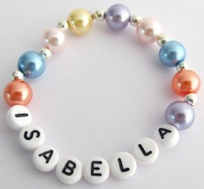 Party Favors Birthday Return Gift Personalized MultiColor Bracelet - $10.78